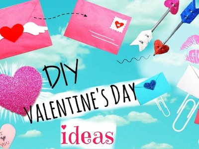 DIY Valentine's Day Gifts & School Supplies Ideas | Easy & Cute Ideas