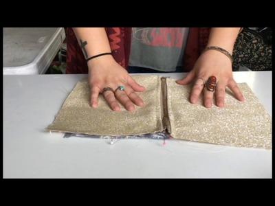 DIY Zipper Pouch | How to Sew a Zipper