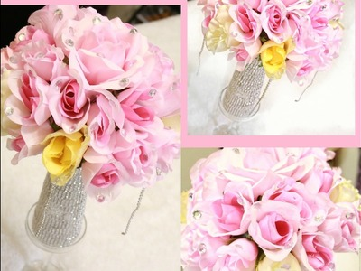 DOLLAR TREE DIY  ELEGANT WEDDING CENTERPIECE