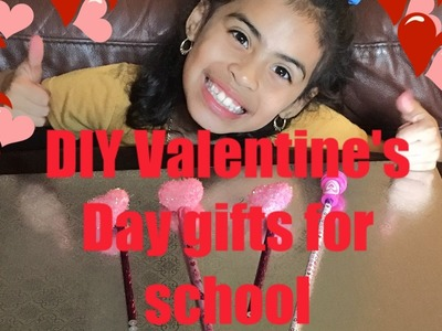 Dollar Tree DIY Valentine's Day gift for classmates