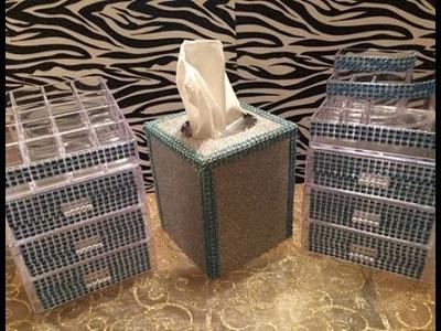 Dollar Tree Project Share & Tissue Box Tutorial