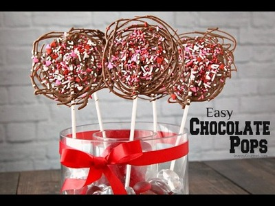 Easy DIY Chocolate Pops