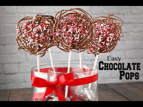 Easy DIY Chocolate Pops