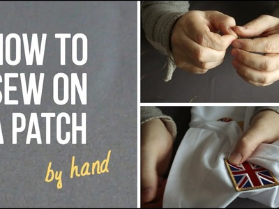 EMBROSOFT – How to sew on a patch (by hand)