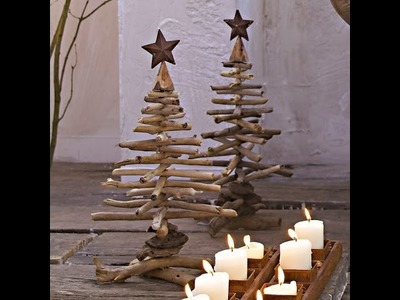 How To Make A Christmas Tree With Wood
