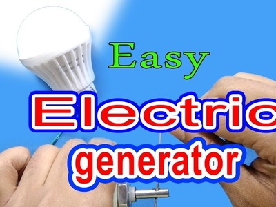 How to make a generator (easy way)