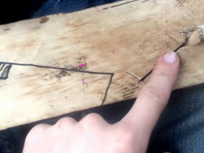 How to make a scarf joint : trial and error