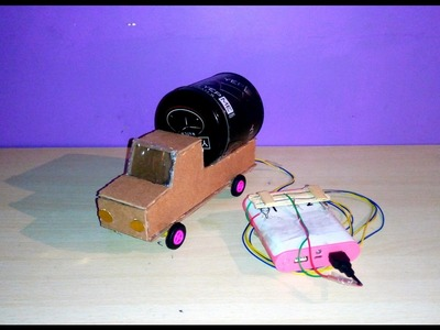 How to make a truck - Remote control | at home . simple step by step mathod