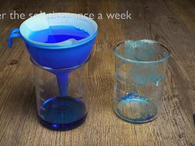 How To Make Transparent Crystals Of Alum Salt At Home Diy Ideas
