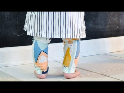How to Sew Leggings Part 1: Draft Your Own Leggings Pattern