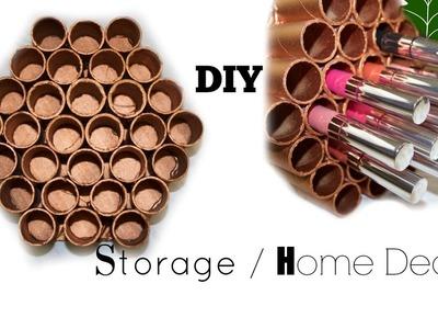 Multi Purpose DIY |Copper Honey comb Makeup Organizer | Home Decor |Recycled
