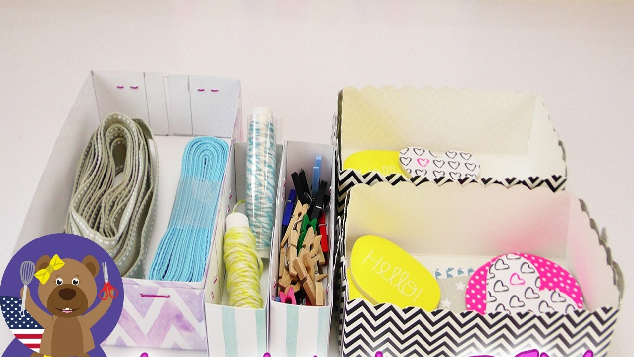 Organize with Small DIY Boxes | Homemade Boxes and Organizers | DIY Inspiration