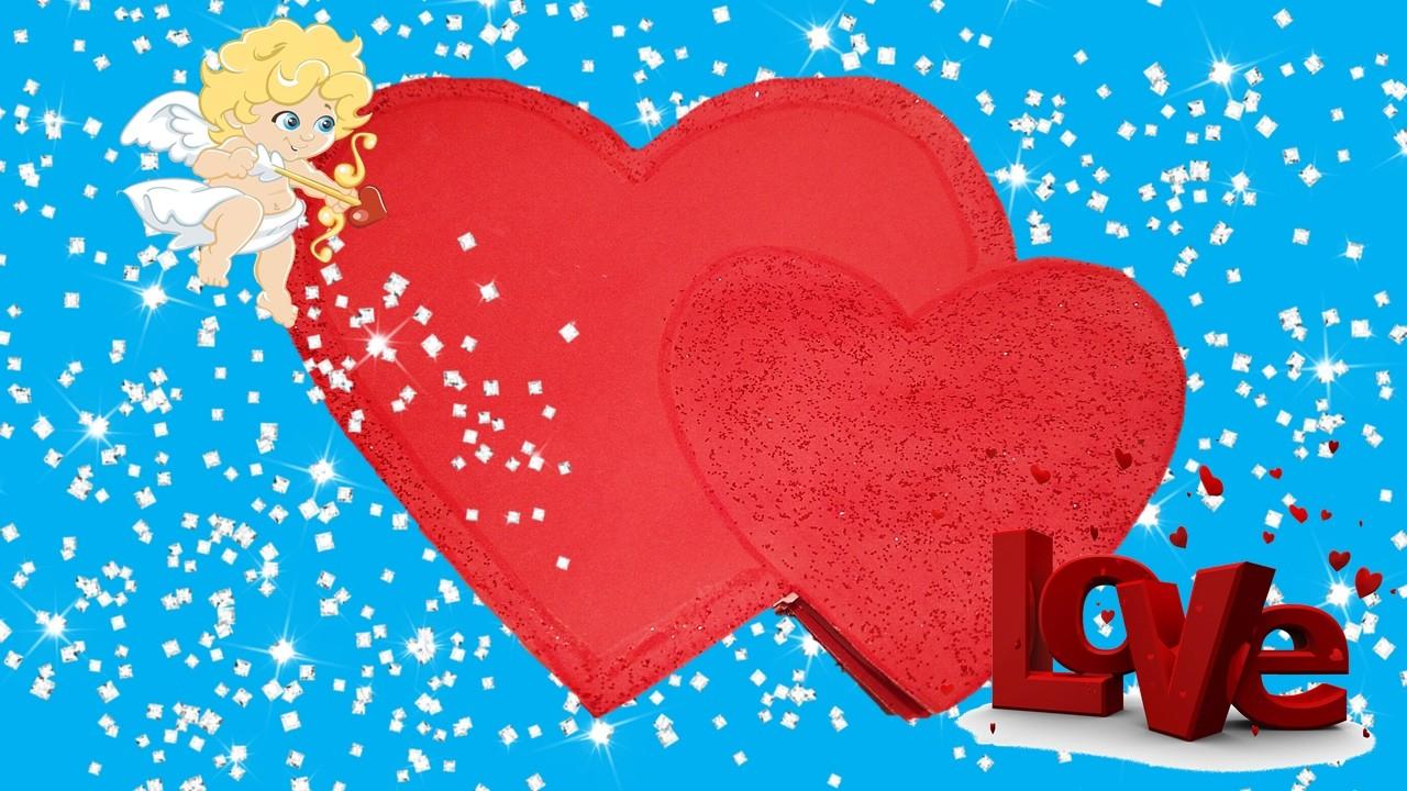 Simple Easy DIY Anniversary and Birthday Card Heart | Handmade