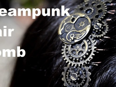 Steampunk DIY Jewelry Hair Piece