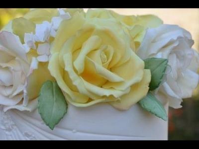 Tutorial How to create a Sugar Rose