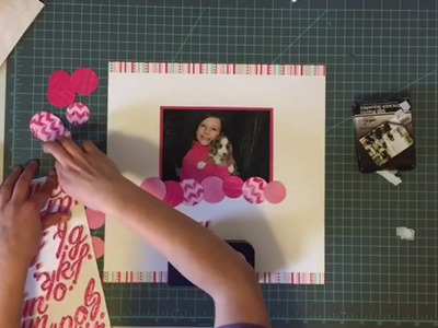 Creating with Kids: Tutorial 1 - Scrapbook Title Page