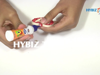 DIY | How to Make Fancy Pendant using Quilling Strips | hybiz