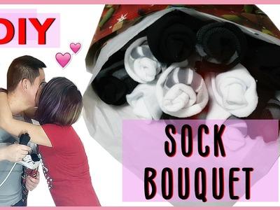 DIY Sock Bouquet | Selena