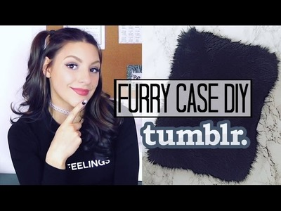 GIFT IT TO YOUR FRENEMY (DIY Furry Computer Sleeve)