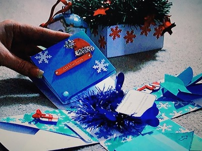 Handmade Christmas gift - Exploding Box