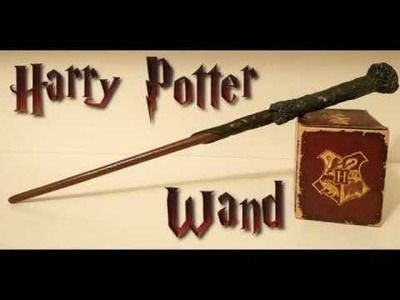 Harry Potter Wand DIY