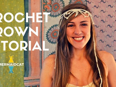 How to Crochet a Headband Crown by Mermaidcat Designs