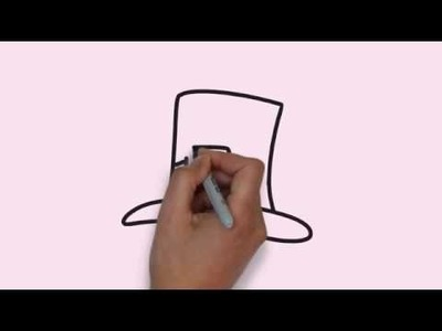 How To Draw a Hat - Cara Menggambar Topi