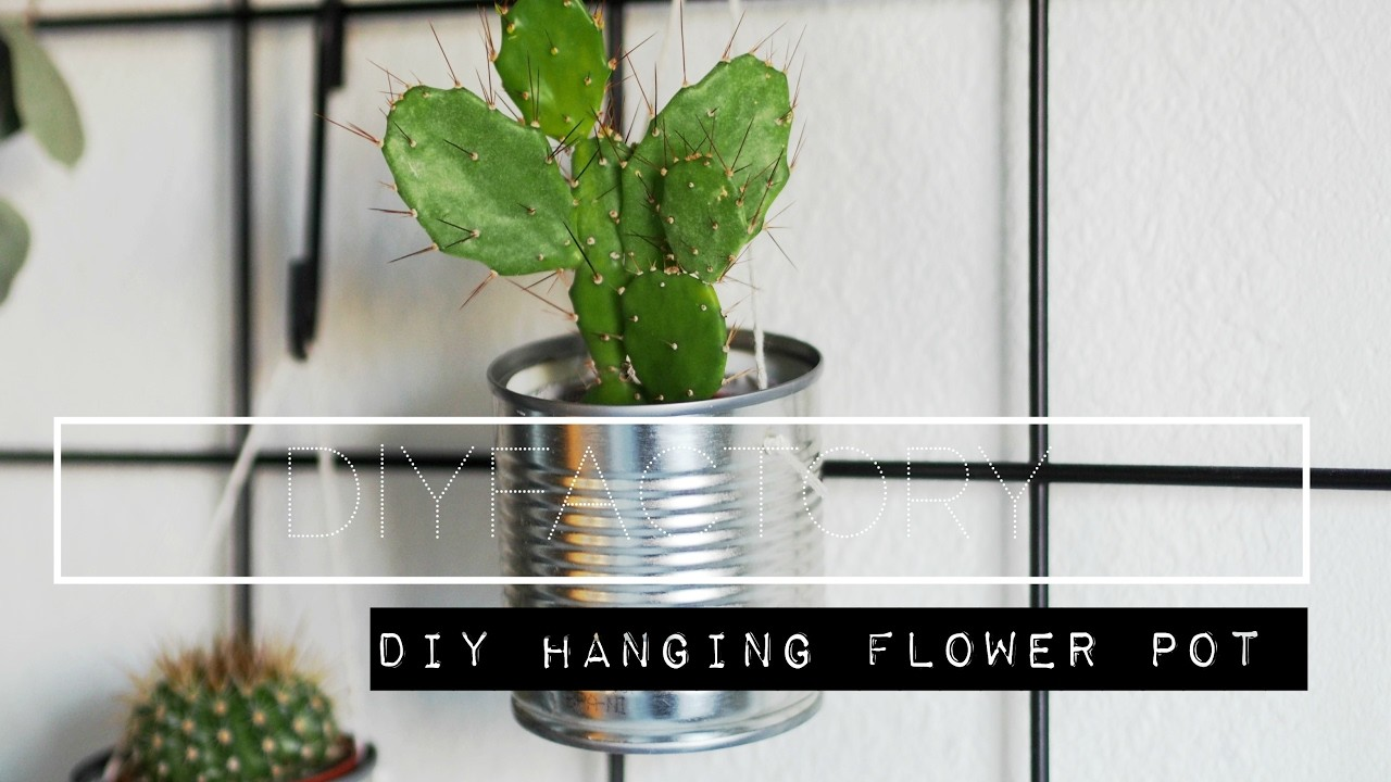 How to make a hanging plant holder