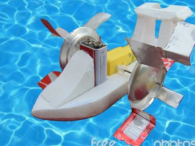 How to make a wheel paddle boat  DIY Boat