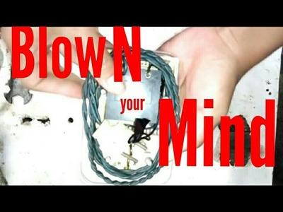 How to make AC Voltage Controller using JAR & dimmer ( cara membuat pengatur tegangan AC)