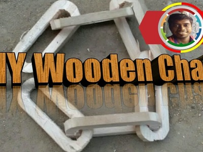 How to make wooden chain At Home