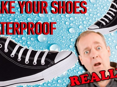 HOW TO MAKE YOUR SHOES WATERPROOF AT HOME  [DIY]  |SolutionsRoom|