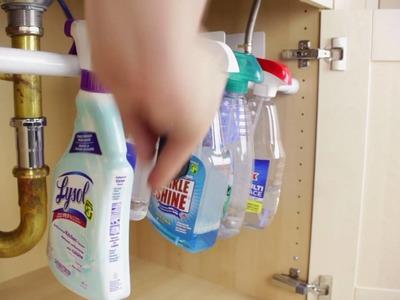 Make Your Own Kitchen Sink Organizer!