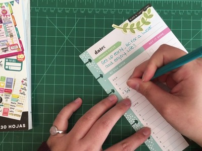 Plan with me | Daily sheets for mini happy planner!!