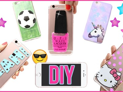 5 DIY Phone Case Designs! How To Make Liquid, Stress Ball, Hello Kitty, Galaxy-Easy Phone Cover DIYs