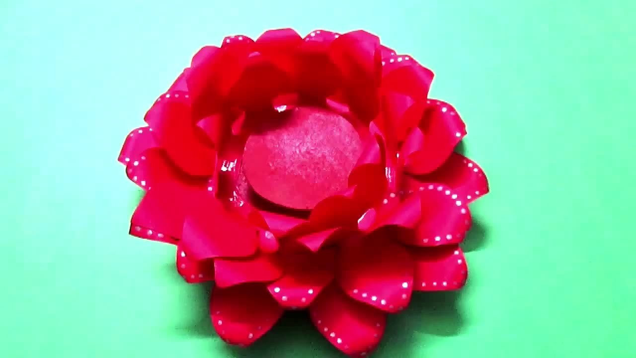 Coloured Paper Craft Ideas Art And Craft Ideas For Paper Flowers