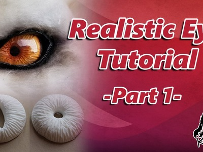 Creature Eye Tutorial: How to make realistic fake eyes for your monster cosplay