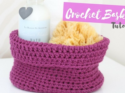 CROCHET: How to crochet an Oval based Basket | Bella Coco