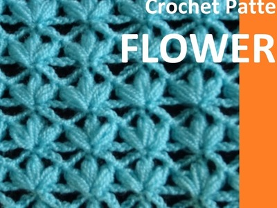 Crochet Pattern* FLOWERS *