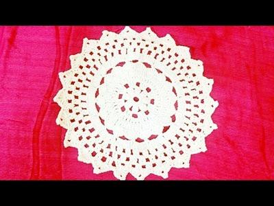 Crochet table runner -A