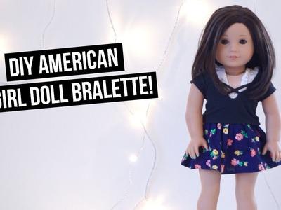 DIY American Girl Doll Bralettes!