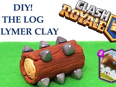 DIY Clash Royale The log - Legendary card - Polymer clay tutorial