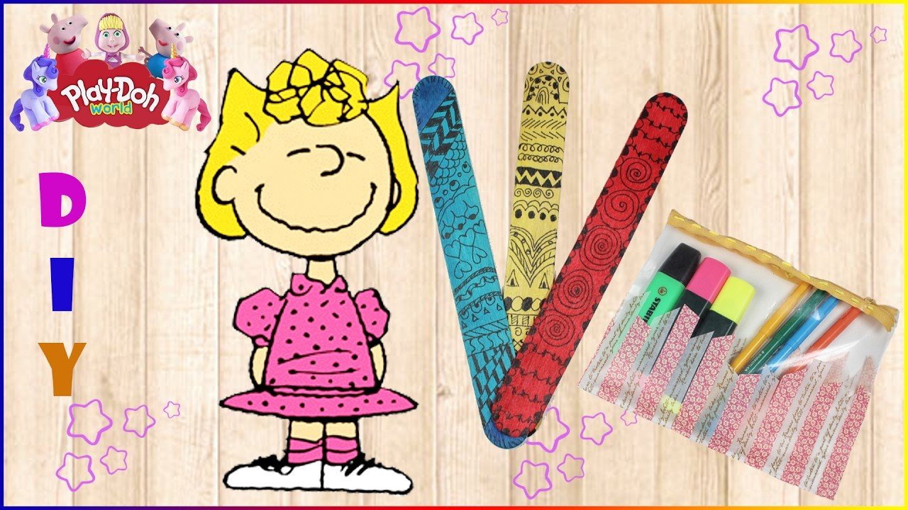 DIY Compilation   How To Make School Supplies And SALLY BROWN 3D Plasticine Creation