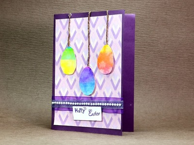 DIY Easter Card - Very Easy Easter Greeting Card Step by Step