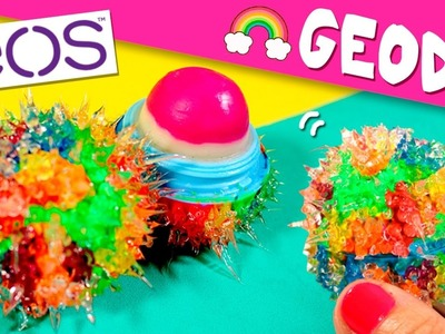 DIY EOS RAINBOW Geode * EOS Geoda ARCOIRIS ✅  Top Tips and Tricks in 1 minute