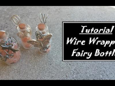 DIY Fairy Bottle Pendant