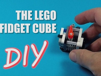 DIY Fidget Cube - Make a Cool LEGO Fidget Cube with Fidget Indicator - LEGO Life Hacks