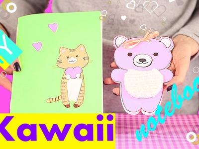 DIY Kawaii Notebooks-How To Make Kawaii Notebook ( Tutorial )