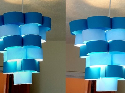 DIY lamp for pendant light - learn how to make a lampshade.lantern for hanging lights 2017