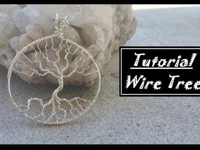 DIY Leafless tree Pendant